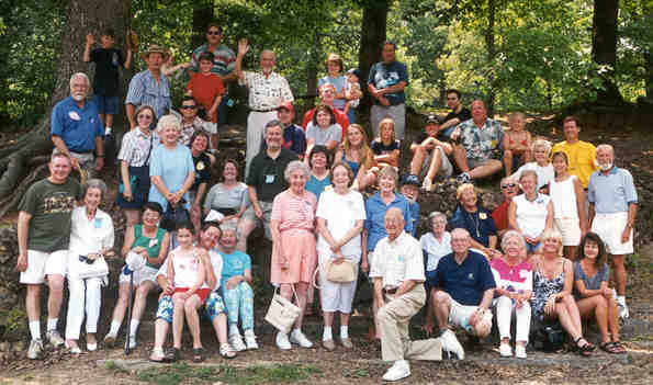 2nd Annual Reunion 29 June 2002 Sylvan Springs County Park St Louis MO (Click on Picture to View Full Screen)